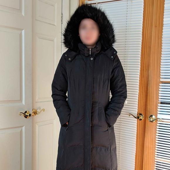 Jones New York Jackets & Blazers - Jones New York Down Blend Quilted Maxi Coat